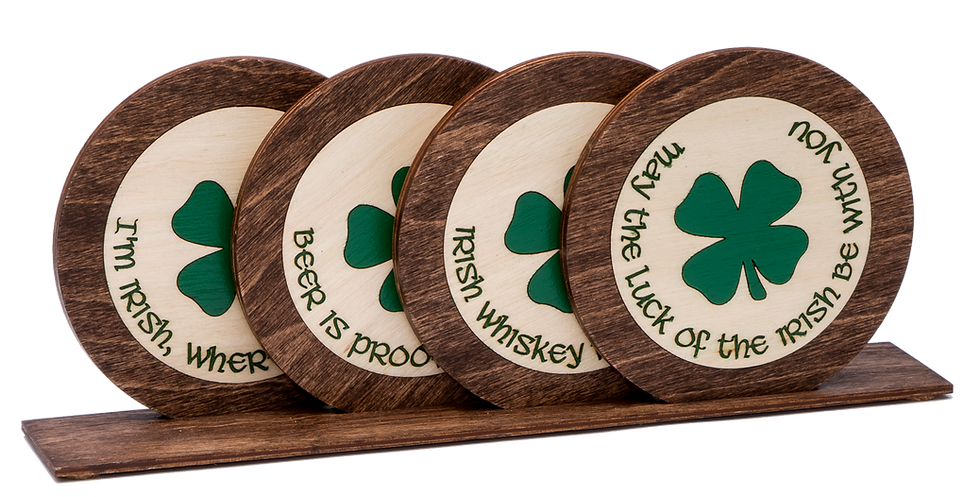 "Coaster-""Luck of the Irish"""