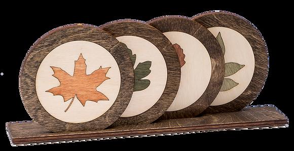 """Coaster-""""Fall Leaves"""""""