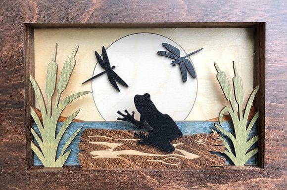 """""""Frog On A Log"""""""