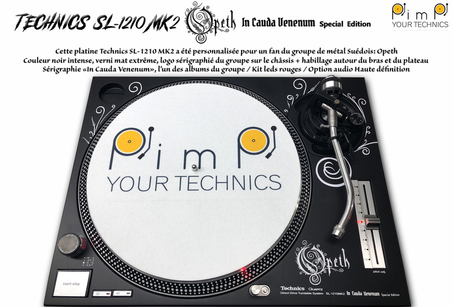 Technics SL-1210 MK2 Opeth