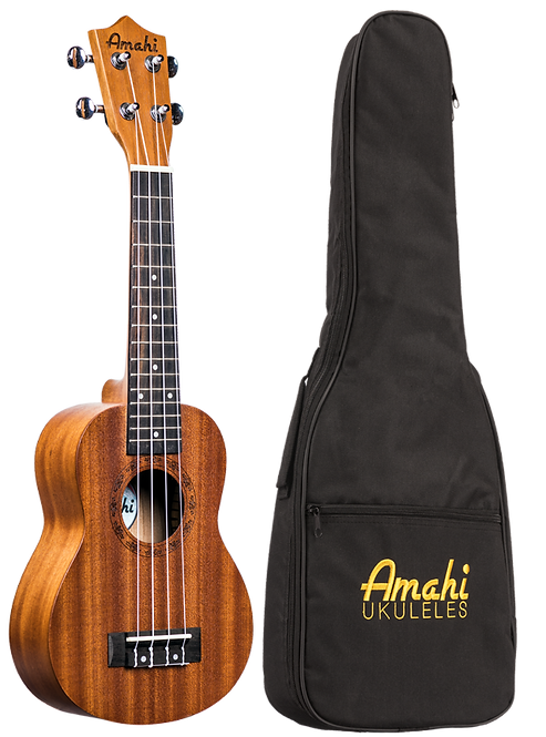 Amahi Select Mahogany Top, Back & Sides, Concert