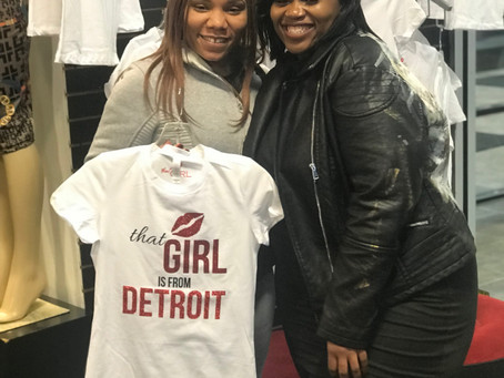 That Girl Sold  nearly sells out of T-Shirts at K&K Dreamgirls in ONE DAY!