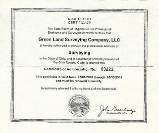 Green Land Survey Ohio