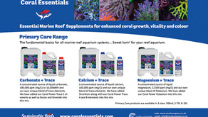 Coral Essentials new launch docks in UK