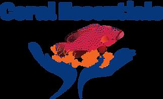 Coral Essentials Logo Blue writing No Ba