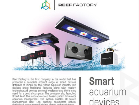 Reef Factory product range 2020