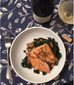 Food & Wine Pairing:                      Coconut Curry Salmon with Exotic Whites