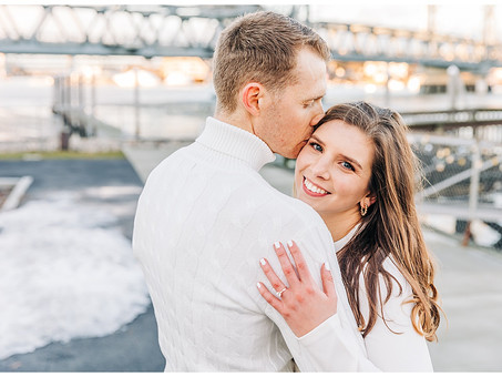 Portsmouth NH Coffee Shop Engagement