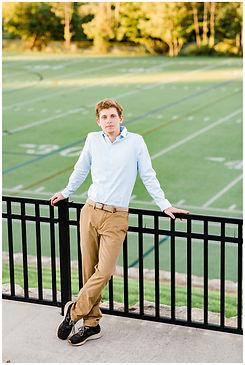 senior portraits football field.jpg