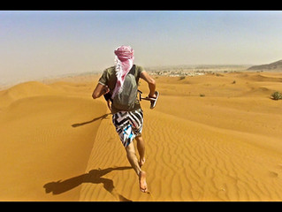 Trail running in Oman