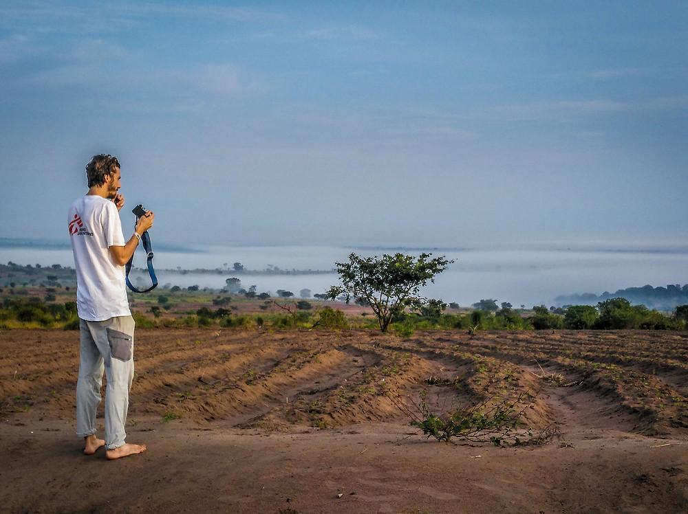 Overlooking the Kasai Province