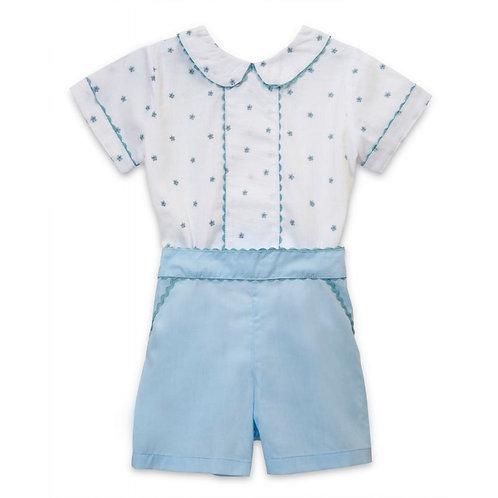 Aurora Royal white&blue buster set