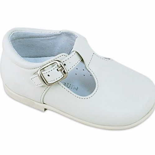 Saltin&Banquin off White leather shoes
