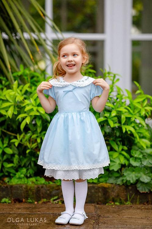 """Aurora Royal"" traditional underskirt dress"