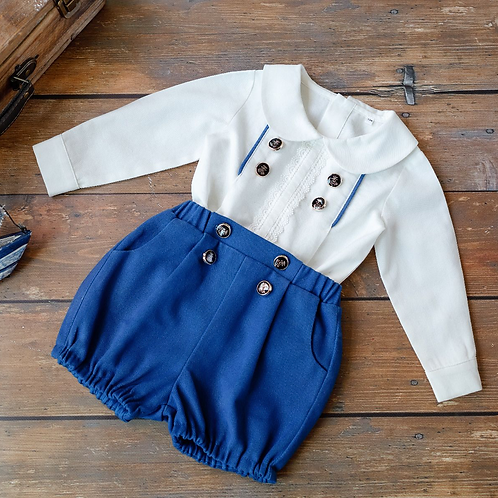 """AURORA ROYAL"" BOYS 2PCS OUTFIT"