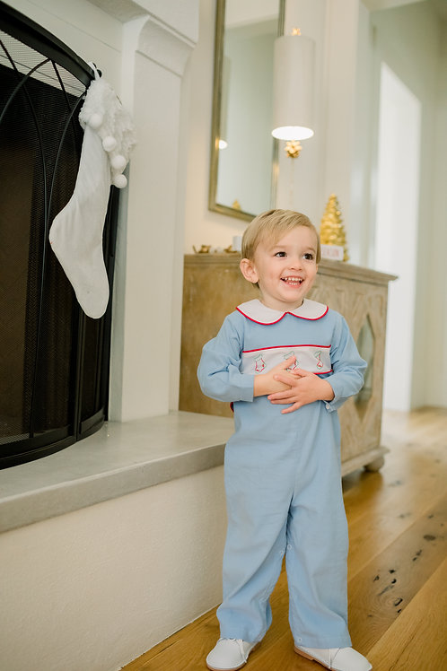 Stockings were Hung Rover Romper