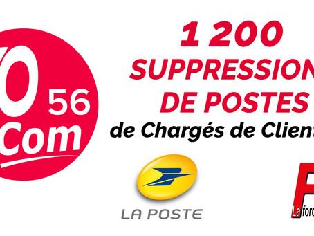 SECTEURS SOUS TENSION : 1200 suppressions de postes de Chargés de Clientèle!