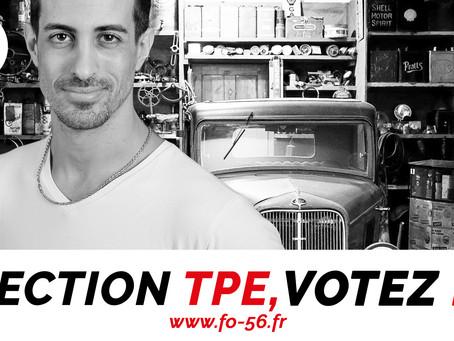 Mécanicien, garagiste, moniteur, employé de station service, pourquoi votez FO à l'élection TPE?