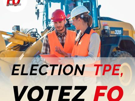 Salarié du bâtiment et des travaux publics. Pourquoi voter à l'élection TPE?