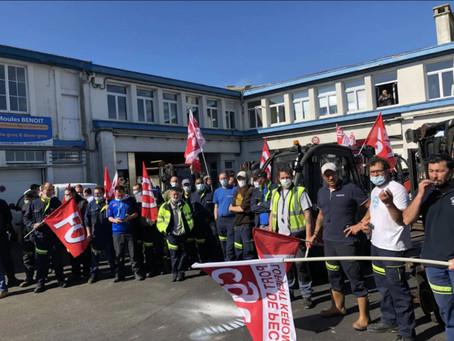 Les unions locales Cgt et FO de Lorient apportent tout leur soutien au mouvement de grève (suite)