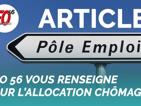 FO 56 vous renseigne sur l'allocation chômage