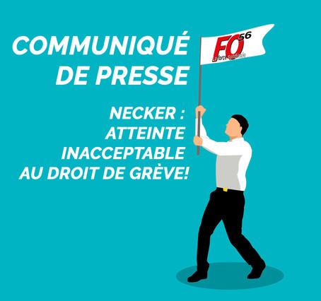 Communiqué - NECKER - Droit de grève!