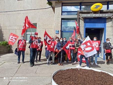 FO Com56 : Retour sur la grève du 18 Mai.