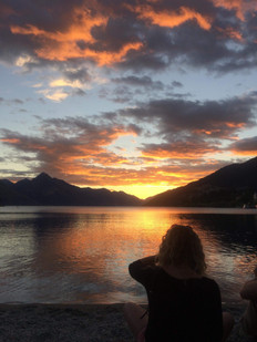 Queenstown, NZ Sunset