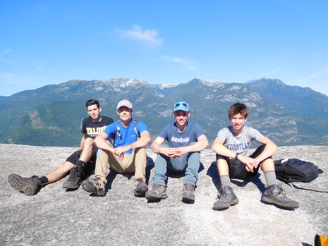Top of the Chief, Squamish, BC Summer 2016