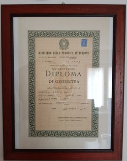 diploma geometra