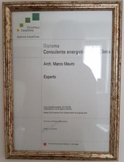 diploma Consulente Energetico
