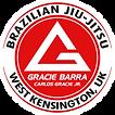 Logo Gracie Barra West Kensington