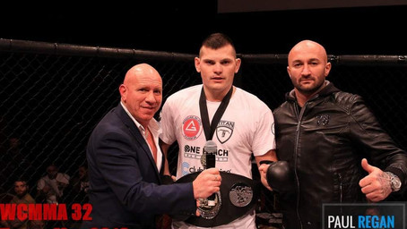 WCMMA | Janos Csukas Finishes First Round by Ground and Pound