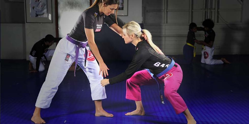 Women's Self Defense Workshop - Brazilian Jiu-Jitsu