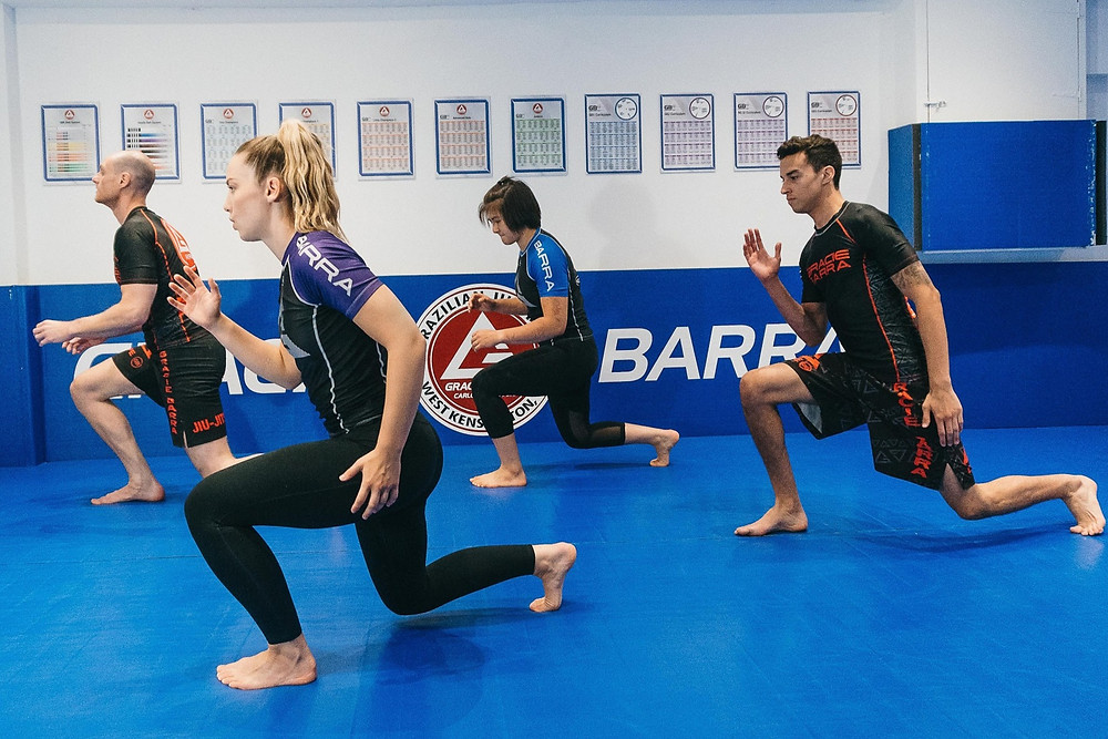 Fitness class at Gracie Barra Fulham & West Kensington - Jiu-Jitsu School
