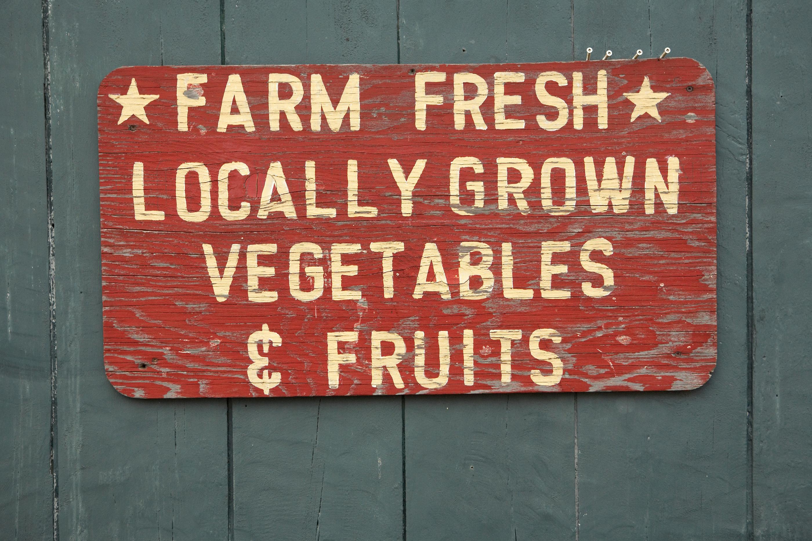 Visit local farm markets