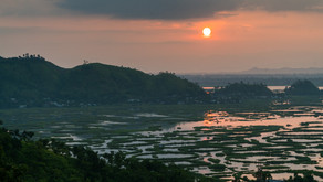 ☀️Loktak Lake, the largest freshwater lake in North India