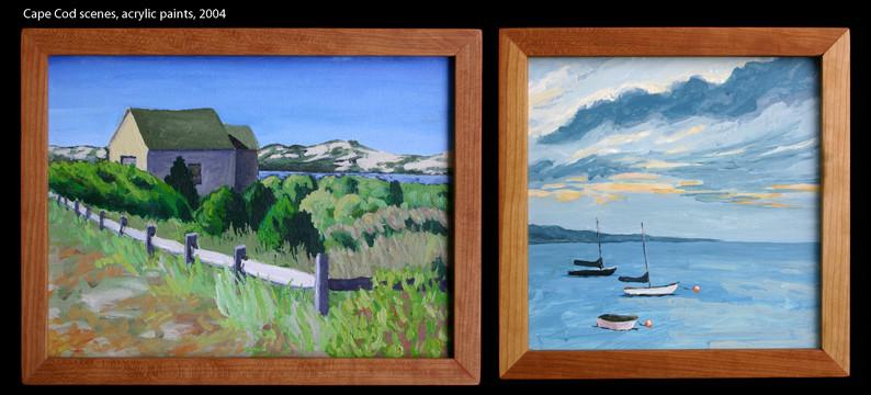 "Jennifer Fuchel, ""Cape Cod Paintings"""