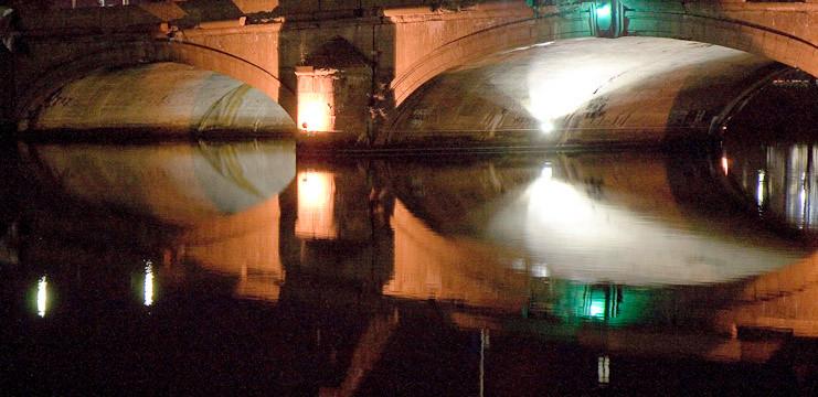 """Phil Olenick, """"Night Bridge"""" (2007)"""
