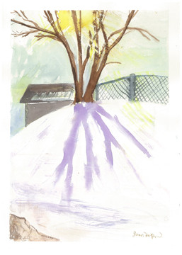 "Joan Ditzion, ""Dancing Shadows in Winter"""