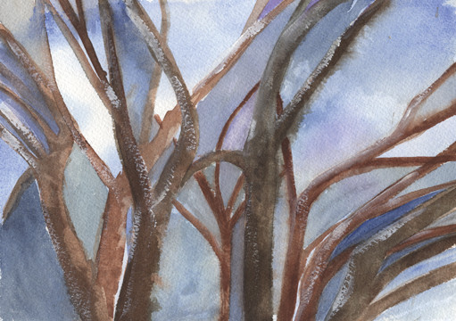 """Joan Ditzion, Gesturing Branches"""""""