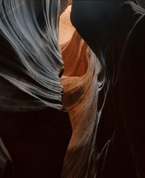 """John Heymann, """"Upper Antelope Canyon, AZ"""","""