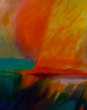 """Gwen Frankfeldt, """"Floating Fire"""""""
