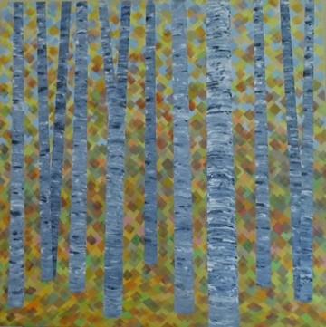 Jim Kociuba, Autumn Birches