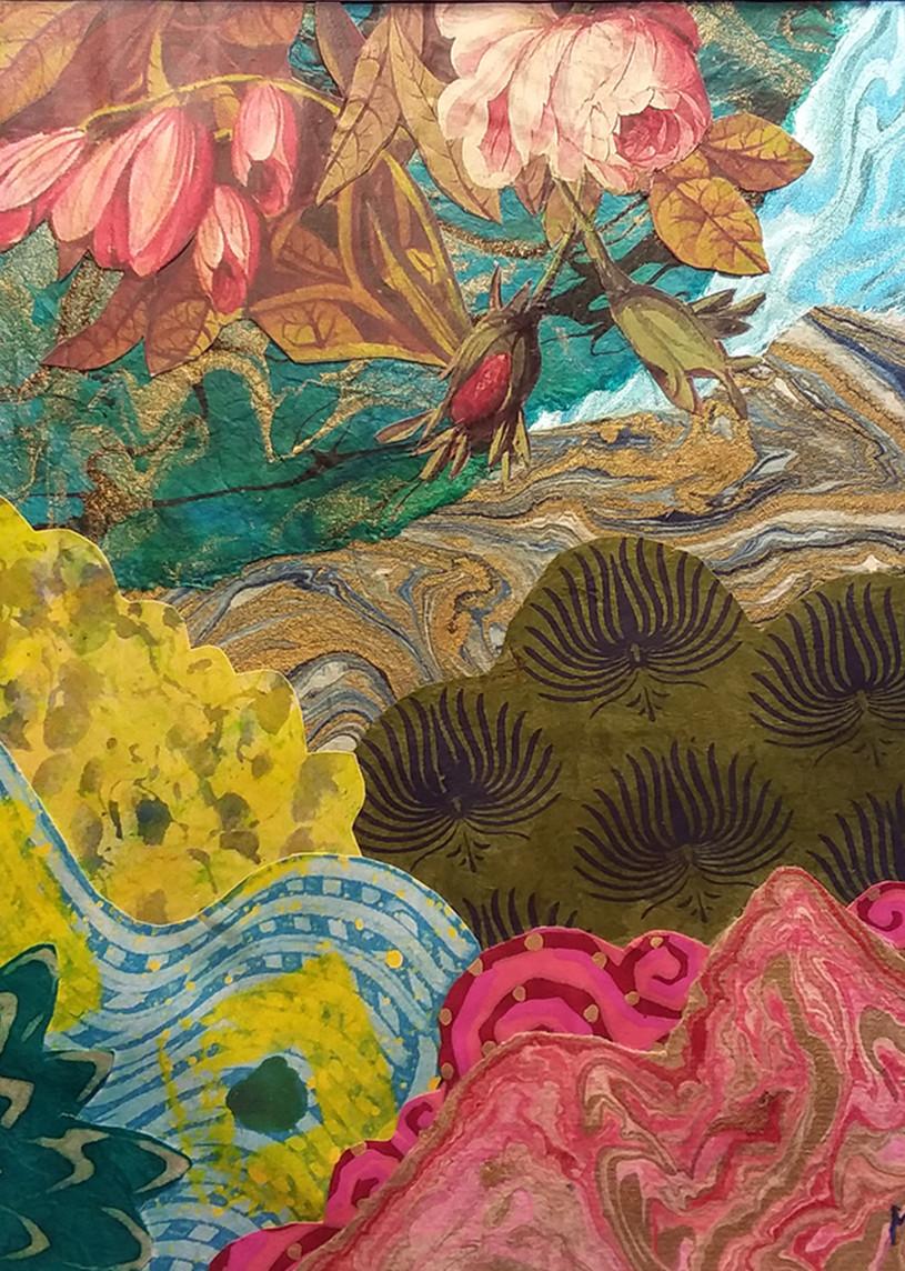 """Marci Davis, """"Strolling the Summer Garden"""""""