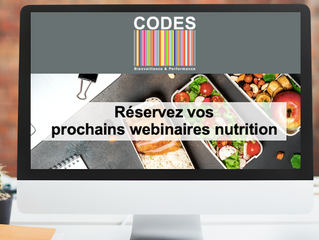 Pour des webinaires nutrition réussis, goûtez à la recette du succès de l'agence CODES !