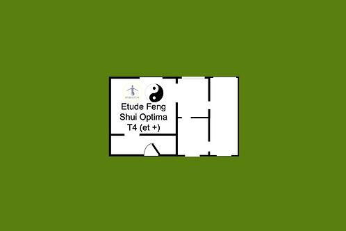 Etude Feng Shui Optima T4 (et+) (+RDV domicile)