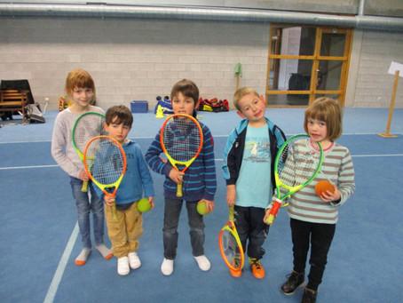 Activité sportive pour les P1et P2:Mini-tennis