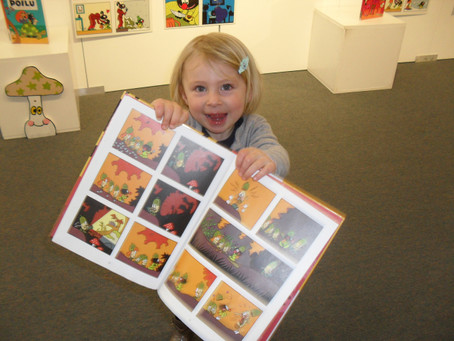 Expositions et rencontre avec l'auteur:Les histoires de Petit Poilu