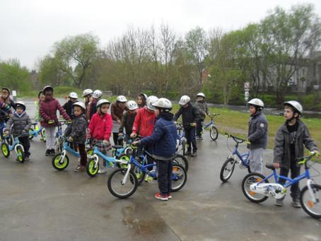 Initiation au vélo P1 et P2 le 04/05/2017